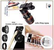 Combo Pack Selfie Ring Light / Mobile Telescope & Fish Eye 3-in-1lens | Accessories for Mobile Phones & Tablets for sale in Lagos State, Ikeja