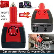 Multifunction DC 12V To AC 220V Car Mobile Converter 150W Car Inverter | Vehicle Parts & Accessories for sale in Lagos State, Ikeja