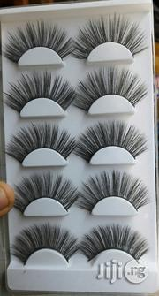 5 In 1 3D Human Hair Eyelashes | Makeup for sale in Lagos State, Amuwo-Odofin