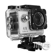 Professional 4K HD Wi-Fi Action Camera-Black | Photo & Video Cameras for sale in Delta State, Warri