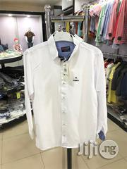 Quality White Long-Sleeve Shirt for Boys | Children's Clothing for sale in Lagos State, Victoria Island