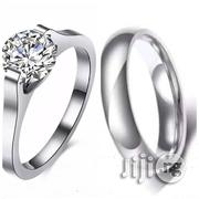 Non Tarnish Titanium Steel Ring-2pcs | Jewelry for sale in Ogun State, Ado-Odo/Ota