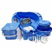Baby Bath Set - 7pcs -Blue | Baby & Child Care for sale in Oyo State, Ibadan