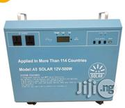 Off Grid 500W Solar Power System Solar Generator With Solar Panel Battery | Solar Energy for sale in Lagos State, Surulere