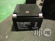Prudent Battery 12v 26ah Deep Cycle Battery   Solar Energy for sale in Lagos State, Ikeja
