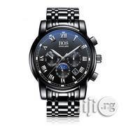 Angela Bos Chronograph - All Black; Nationwide Delivery | Watches for sale in Lagos State, Ikeja