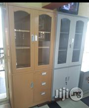 Stylish Design Qulity Book Shelve With Glass Doors | Furniture for sale in Lagos State, Magodo