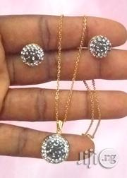 Set Of Earrings And Pendant With Chain | Jewelry for sale in Lagos State, Ikotun/Igando