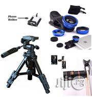 Mobile Telescope,Selfie Light and Tripod Stand for Camera | Accessories & Supplies for Electronics for sale in Lagos State, Ikeja