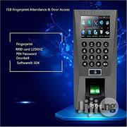 Zkteco F18 Fingerprint Time Attendance & Access Control+ RFID Card | Safety Equipment for sale in Lagos State, Ikeja