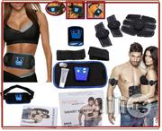 Electrode Slimming Up Body Fitness Belt + 'EMS' SIX PACK Massager | Massagers for sale in Lagos State, Ikeja