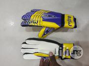 Yellow & Blue Mitre Hand Groove | Sports Equipment for sale in Lagos State, Surulere