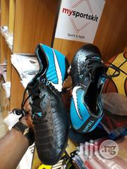 Nike Tiempo Soccer Boot Blue & Black | Shoes for sale in Lagos State, Surulere