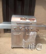 Barbecue Grill 4burner With Side Cooker | Kitchen Appliances for sale in Lagos State
