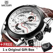 MEGIR Top Luxury Brand Watch Famous Men's Fashion | Watches for sale in Lagos State, Ikeja