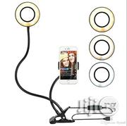 Selfie Ring Light With Cell Phone Holder Stand | Accessories for Mobile Phones & Tablets for sale in Lagos State, Amuwo-Odofin