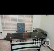 Dynamic 1.4 Mm Office Executive Table With Glass Top. | Furniture for sale in Lagos State, Ikeja