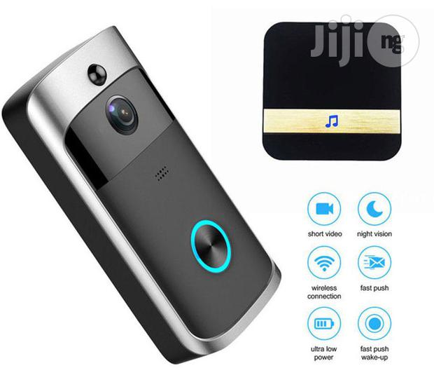 Video Wireless Doorbell Camera With Chime For Home Security