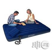Intex Queen Size Classic Downy Airbed + Pump + Pillows - 2 Persons | Furniture for sale in Oyo State, Ibadan South West