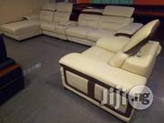 Quality Imported L-shape Sofa Off-white | Furniture for sale in Cross River State, Calabar