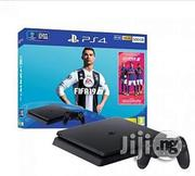Sony PS4 500GB + FIFA 19 Bundle - Jet Black | Video Game Consoles for sale in Rivers State, Port-Harcourt