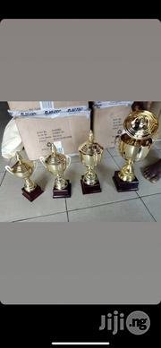 Set Of Gold Trophies | Arts & Crafts for sale in Lagos State, Lagos Mainland