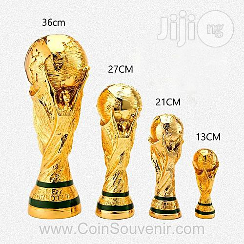 World Cup Trophies.