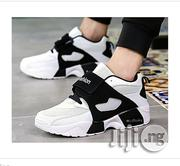Fashion Men Sneakers Running Shoes Trainers Lace-up Outdoor Athletic Sport Shoes Comfortable-white02 | Shoes for sale in Oyo State, Ibadan