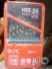 Set Of Drilling Bit 1.5-13mm Stainless Steel | Hand Tools for sale in Lagos State, Ikeja