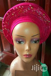 Auto Gele Teal Green Aso Oke | Clothing for sale in Rivers State, Port-Harcourt