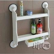 Kitchen OR Bathroom Double Layer Storage Shelf With Drawer | Furniture for sale in Lagos State, Lagos Island
