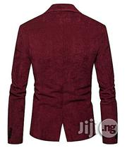 Afankara Men Suit Formal Skinny Wedding Blazer Prom - Wine | Clothing for sale in Abuja (FCT) State, Garki 2