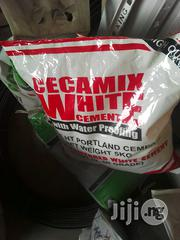 Cecamix White Cement (5kg) | Building Materials for sale in Lagos State, Lagos Mainland