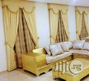 Royal Gold Curtain | Home Accessories for sale in Lagos State, Ojo