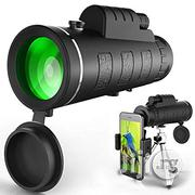 Generic Monocular 40X60 Zoom Optical Lens Telescope + Tripod + Clip for Mobile Phone | Accessories & Supplies for Electronics for sale in Lagos State, Ikorodu