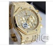 Audemars Piguet Royal Oak Chronograph Gold Watch | Watches for sale in Abuja (FCT) State, Gwagwalada