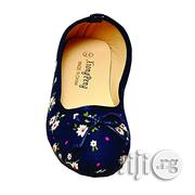 Ladies Floral Sneakers-Navyblue | Shoes for sale in Lagos State, Ikeja