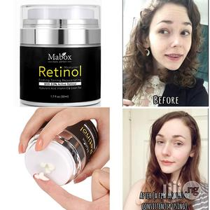 MABOX Retinol 2.5% Moisturizer Face Cream and Eye Vitamin E