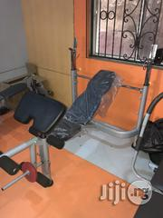 Weight Bench With 50kg   Sports Equipment for sale in Lagos State, Ikotun/Igando