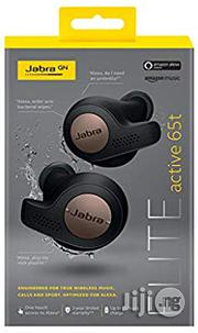 Jabra Elite Active 65t True Wireless Sports Earbuds | Headphones for sale in Lagos State, Ikeja