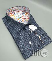 Dark Gray Color Pattern Turkey Shirts By LG | Clothing for sale in Lagos State, Lagos Island