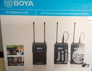 BOYA BY-WM8 Pro-k2 UHF Dual-channel Wireless Lavalier System   Photo & Video Cameras for sale in Lagos State, Ikeja
