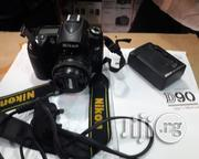 Nikon DSLR D90 Super Clean Wit 50mm Lens | Photo & Video Cameras for sale in Lagos State, Ikeja