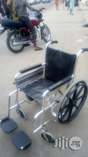Anti-rust , First Grade , UK Used Aluminum Wheel Chair | Medical Equipment for sale in Lagos State, Surulere