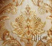 Wao Wallpapers Sensational 3D Design Wall Paper Gold | Home Accessories for sale in Abuja (FCT) State, Central Business District