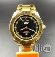 Bvlgari Gold Steel Men's Watch | Watches for sale in Lagos State, Ikeja