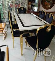 Pure Marble Golden Dinning Set | Furniture for sale in Abuja (FCT) State, Wuse