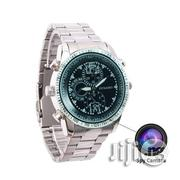 8GB Full HD Spy Steel Wristwatch | Photo & Video Cameras for sale in Lagos State, Ikeja
