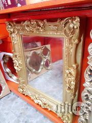 Interior Golden Mirror | Home Accessories for sale in Lagos State, Ikeja