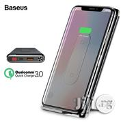 Baseus 10000mah Quick Charge 3.0 Power Bank Qi Wireless - Black | Accessories for Mobile Phones & Tablets for sale in Lagos State, Ikeja